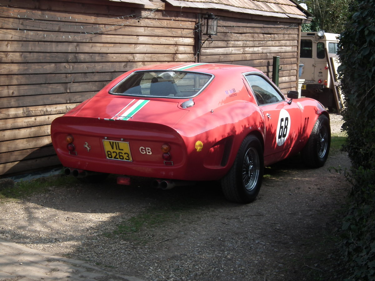 2009 250 GTO Recreation red 3 litre power For Sale (picture 2 of 6)