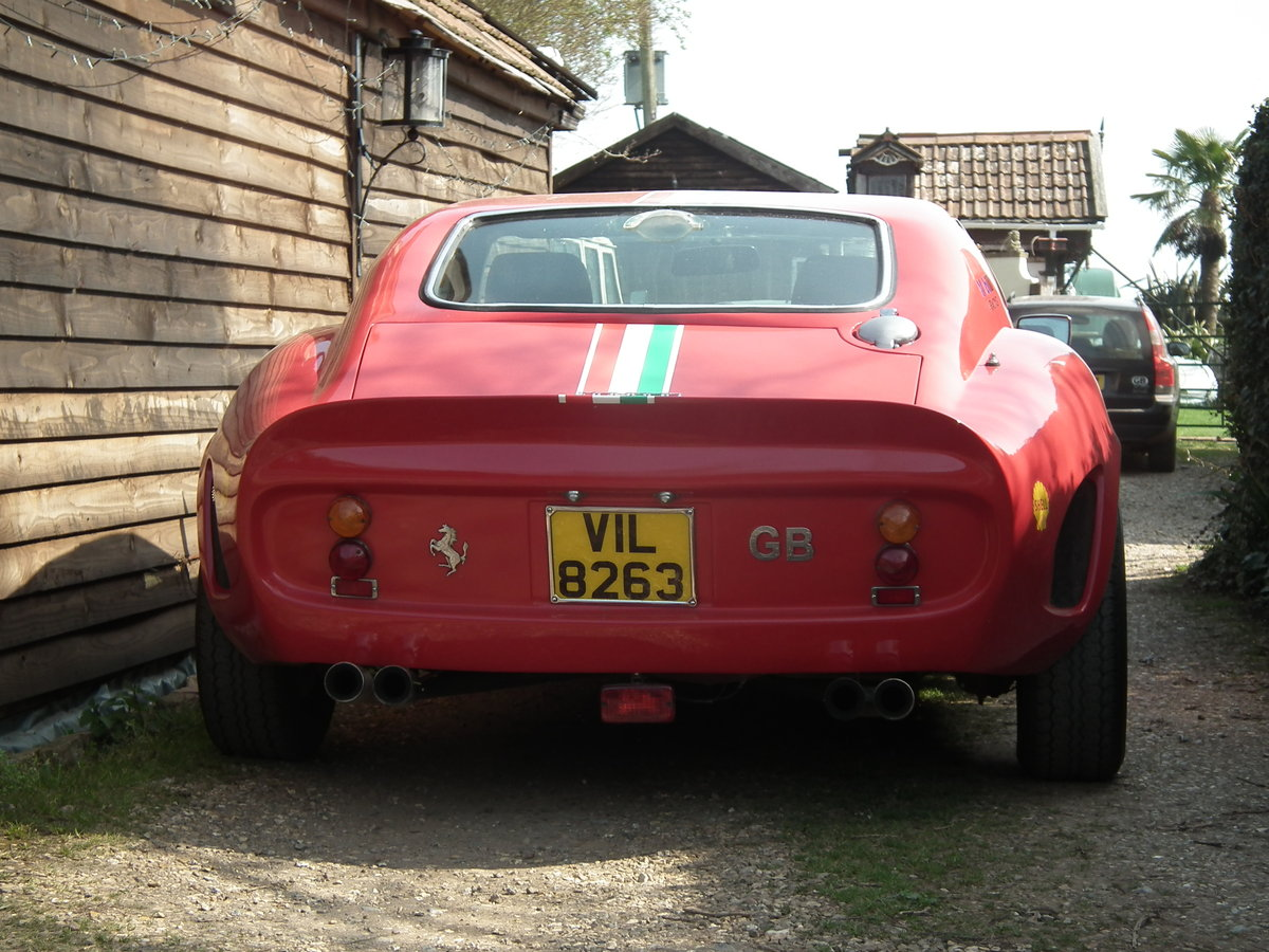 2009 250 GTO Recreation red 3 litre power For Sale (picture 3 of 6)