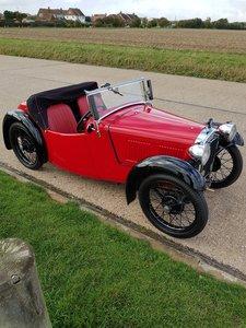 Austin 7 Nippy AEB. First reg 18/07/1934. For Sale