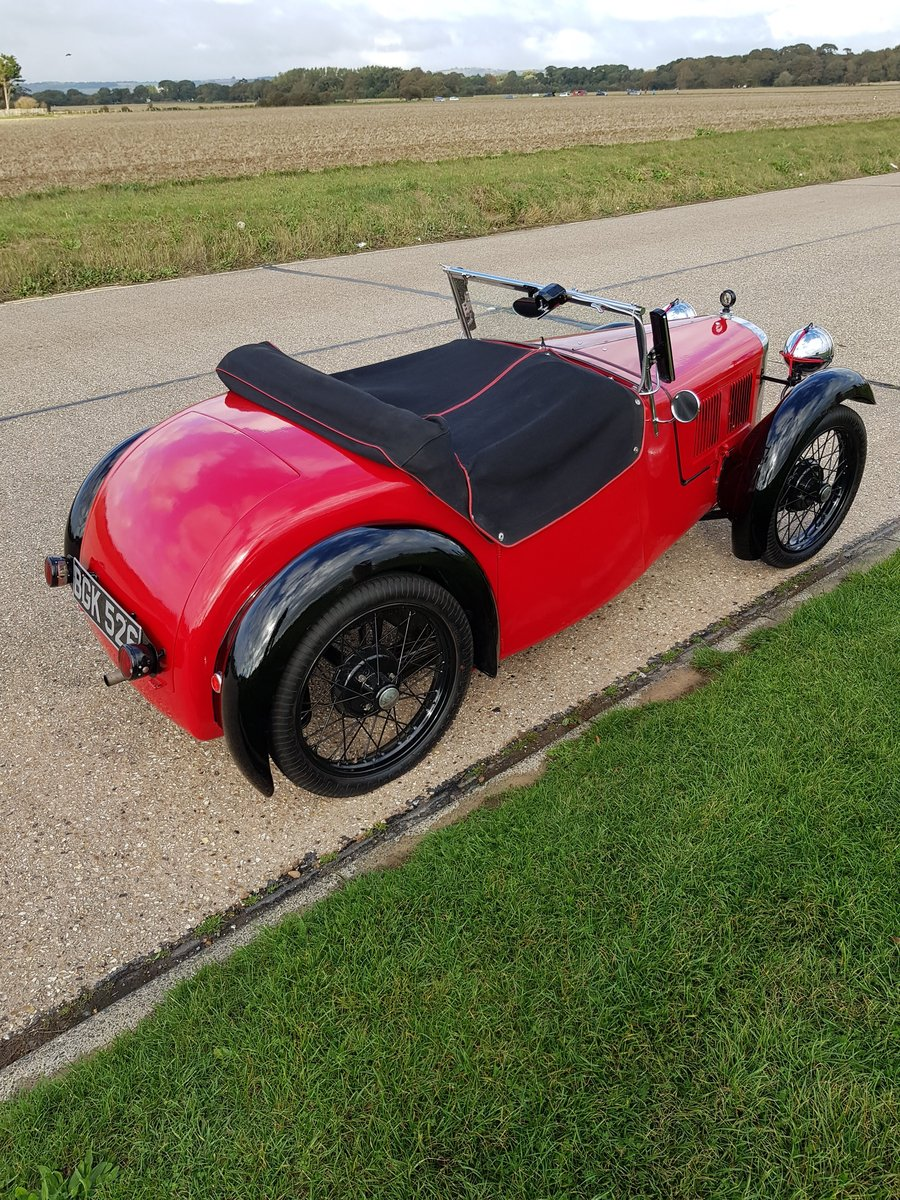 Austin 7 Nippy AEB. First reg 18/07/1934. SOLD (picture 2 of 6)