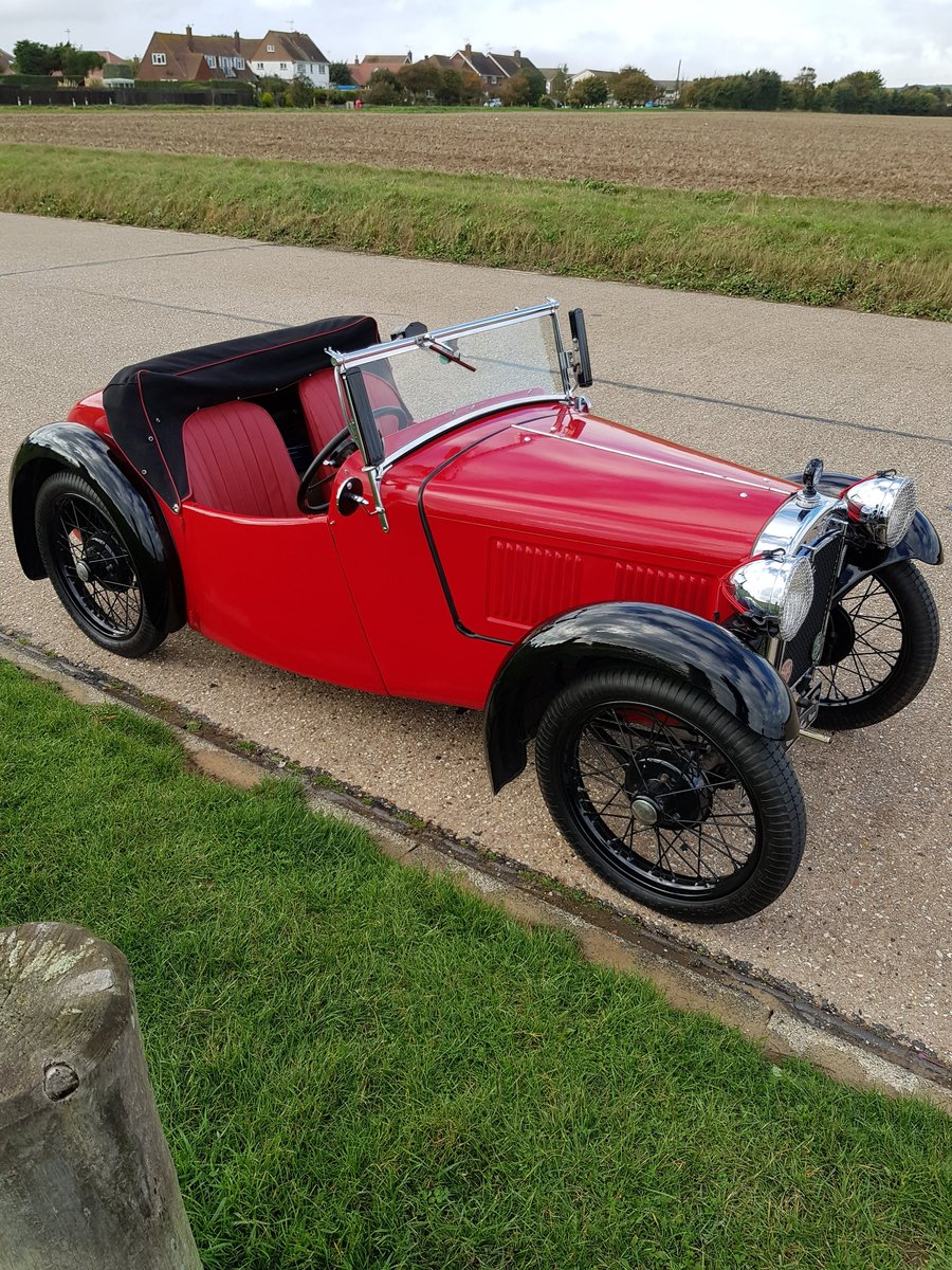 Austin 7 Nippy AEB. First reg 18/07/1934. SOLD (picture 3 of 6)