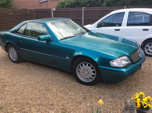 1996 P Mercedes 320 SL 92;000 miles fsh For Sale