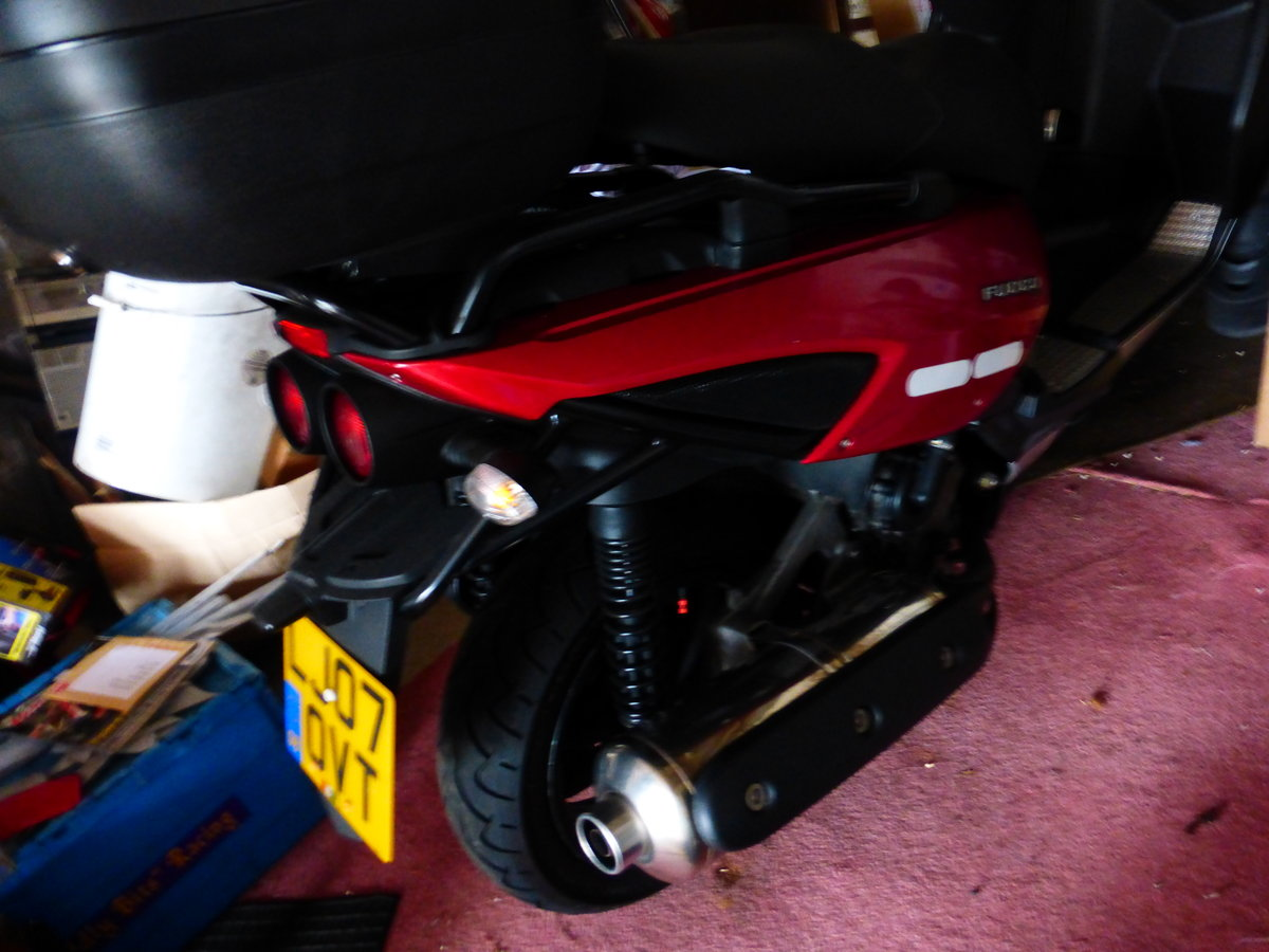 Fuoco 550 cc Trike Gilera Engine 2007 Immaculate For Sale (picture 1 of 6)