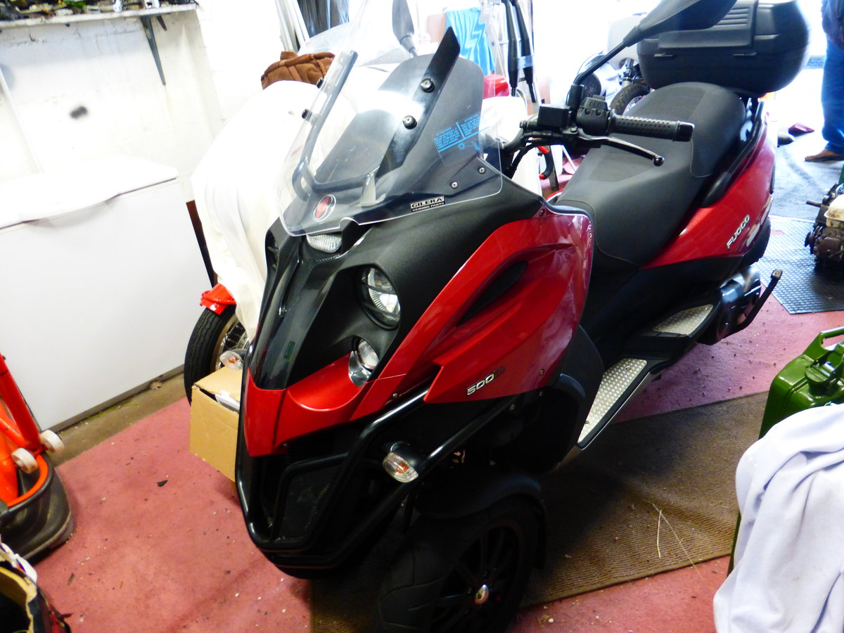 Fuoco 550 cc Trike Gilera Engine 2007 Immaculate For Sale (picture 3 of 6)