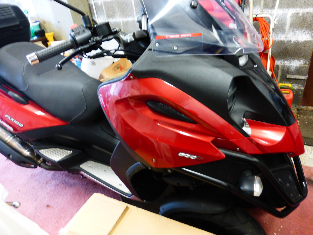 Fuoco 550 cc Trike Gilera Engine 2007 Immaculate For Sale (picture 4 of 6)