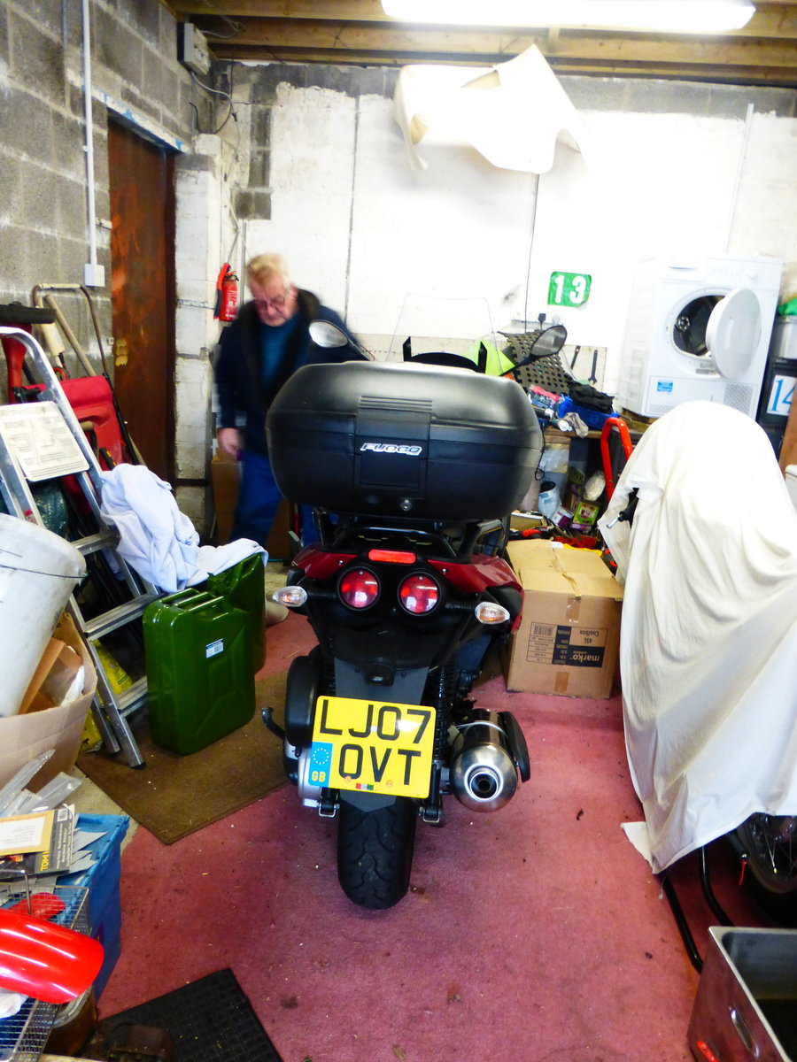 Fuoco 550 cc Trike Gilera Engine 2007 Immaculate For Sale (picture 6 of 6)