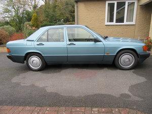 1992 Mercedes 190E 1.8 Auto For Sale