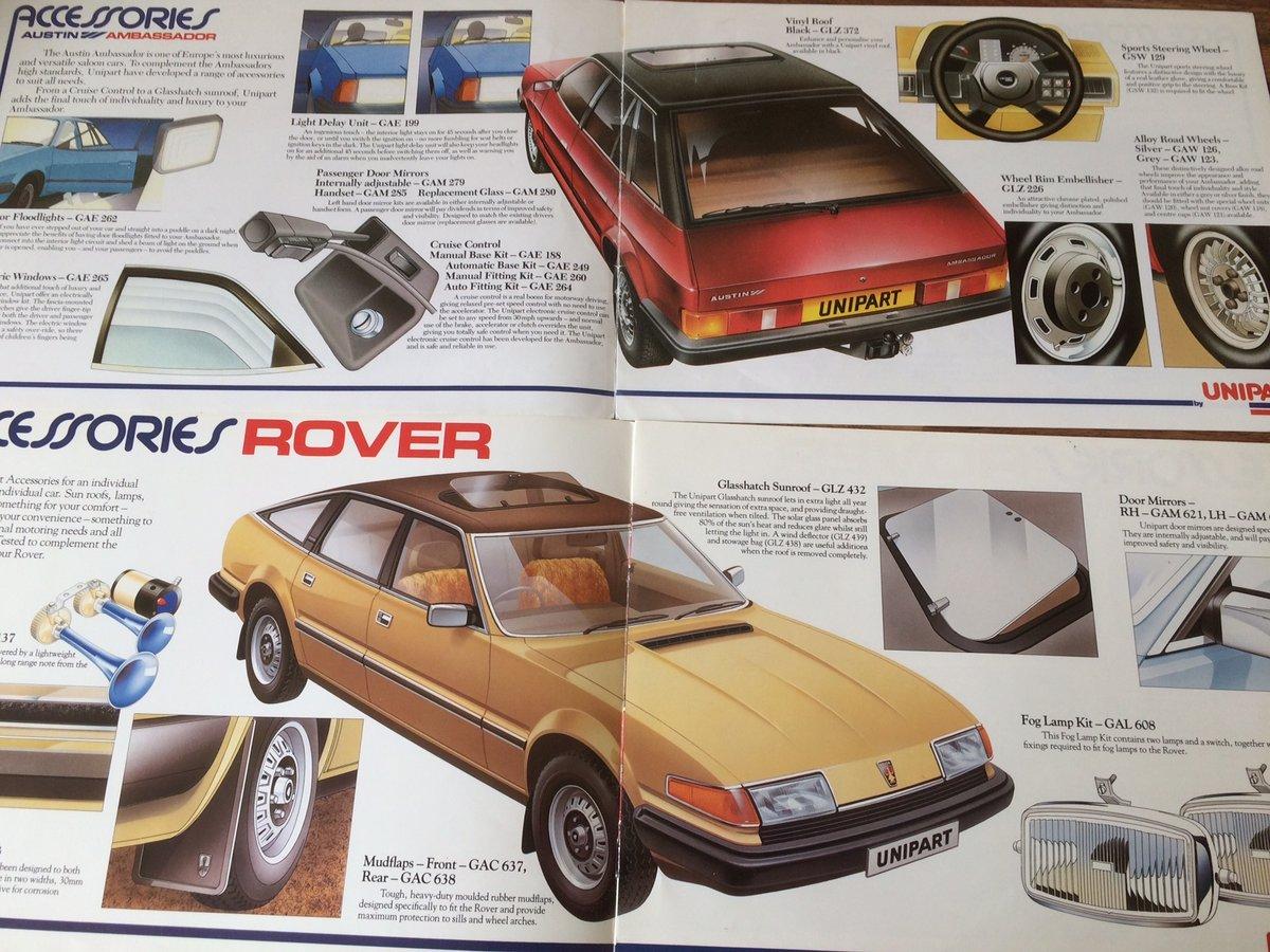 Unipart Austin, Morris, Triumph, Rover brochures. SOLD (picture 2 of 3)