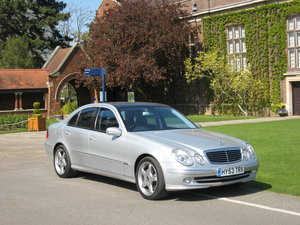 2003 Mercedes E500 Avantgarde Saloon -  Full Spec.