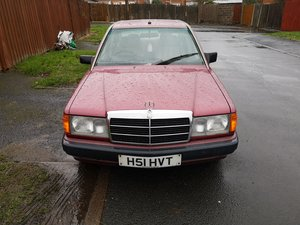 1990 Mercedes benz 190e For Sale