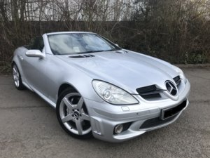 2005 Mercedes SLK 55 AMG For Sale