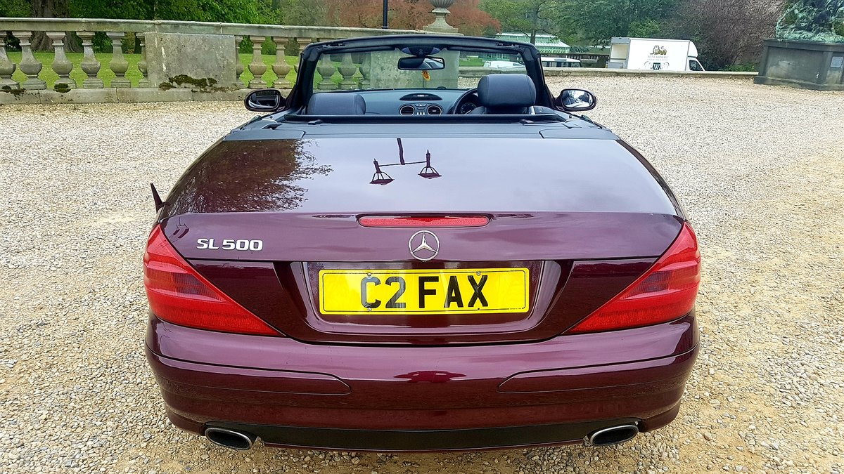 2002 Mercedes sl500 amg designo mystic red special orde For Sale (picture 3 of 6)
