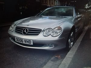 Mercedes Benz SL350 Convertible 2006 Automatic Si For Sale