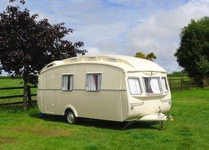1960 Rare Cheltenham Springbok caravan For Sale