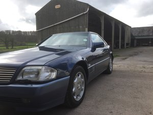 1990 Mercedes SL500. R129 For Sale