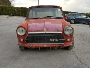 1974 Innocenti Mini Cooper 1.3 for restoration