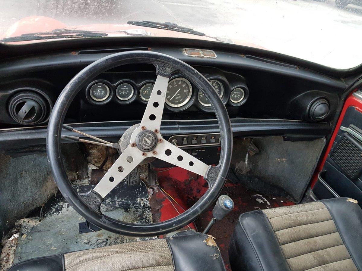 1974 Innocenti Mini Cooper 1.3 for restoration For Sale (picture 2 of 6)