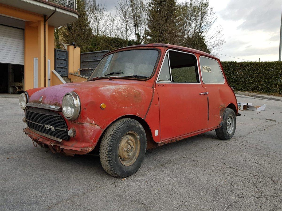 1974 Innocenti Mini Cooper 1.3 for restoration For Sale (picture 4 of 6)