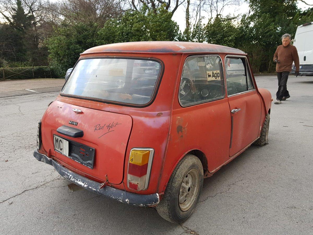 1974 Innocenti Mini Cooper 1.3 for restoration For Sale (picture 5 of 6)