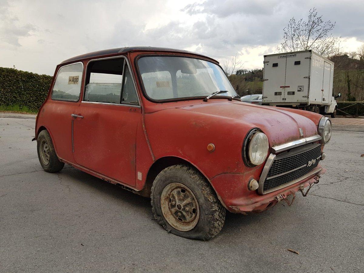 1974 Innocenti Mini Cooper 1.3 for restoration For Sale (picture 6 of 6)