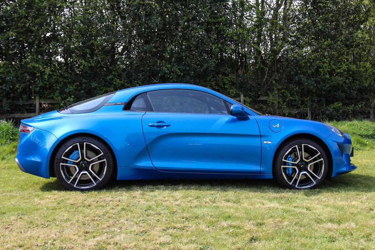 2018 Alpine A110 Premiere Edition auto For Sale (picture 1 of 6)