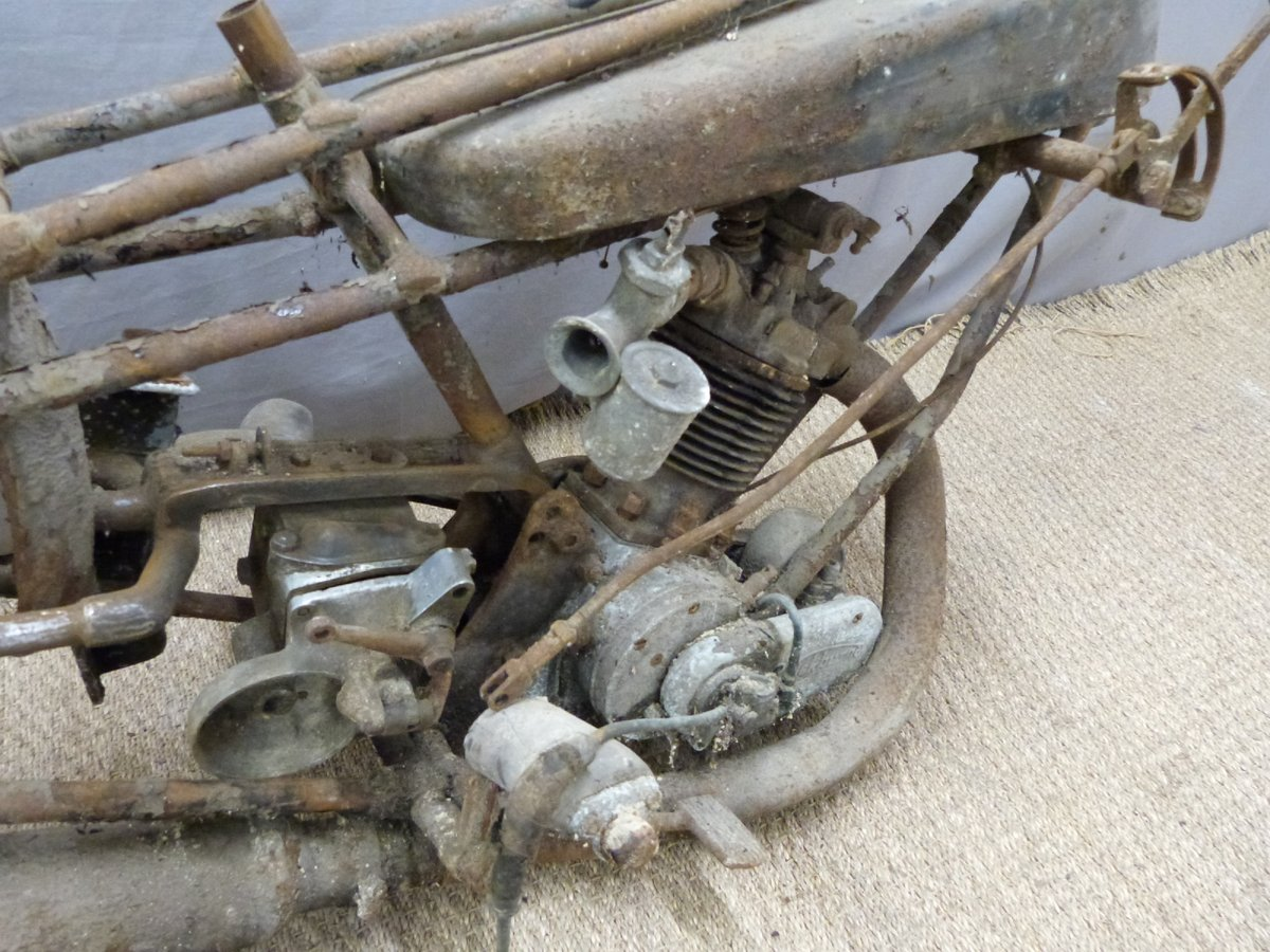1927 Cotton 350cc OHV works racing motorcycle For Sale by Auction (picture 3 of 6)