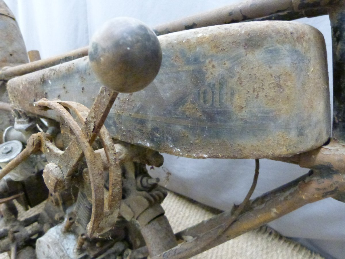 1927 Cotton 350cc OHV works racing motorcycle For Sale by Auction (picture 6 of 6)