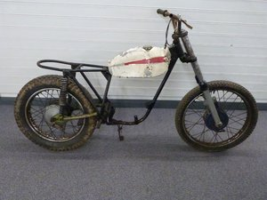 1969 Cotton 37A lightweight trail motorcycle proje For Sale by Auction