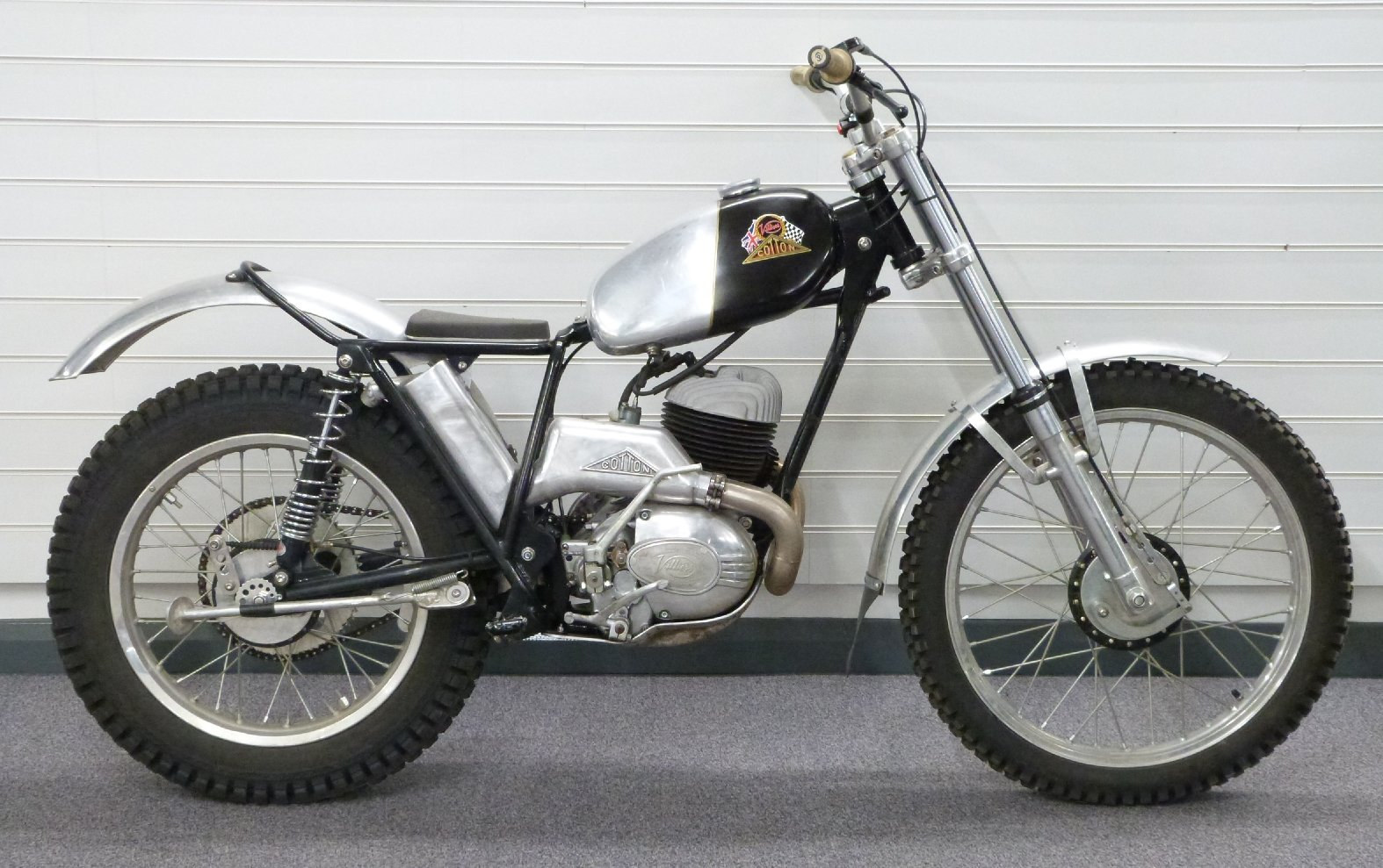 1969 Cotton 37A lightweight 250cc trials bike For Sale by Auction (picture 1 of 5)
