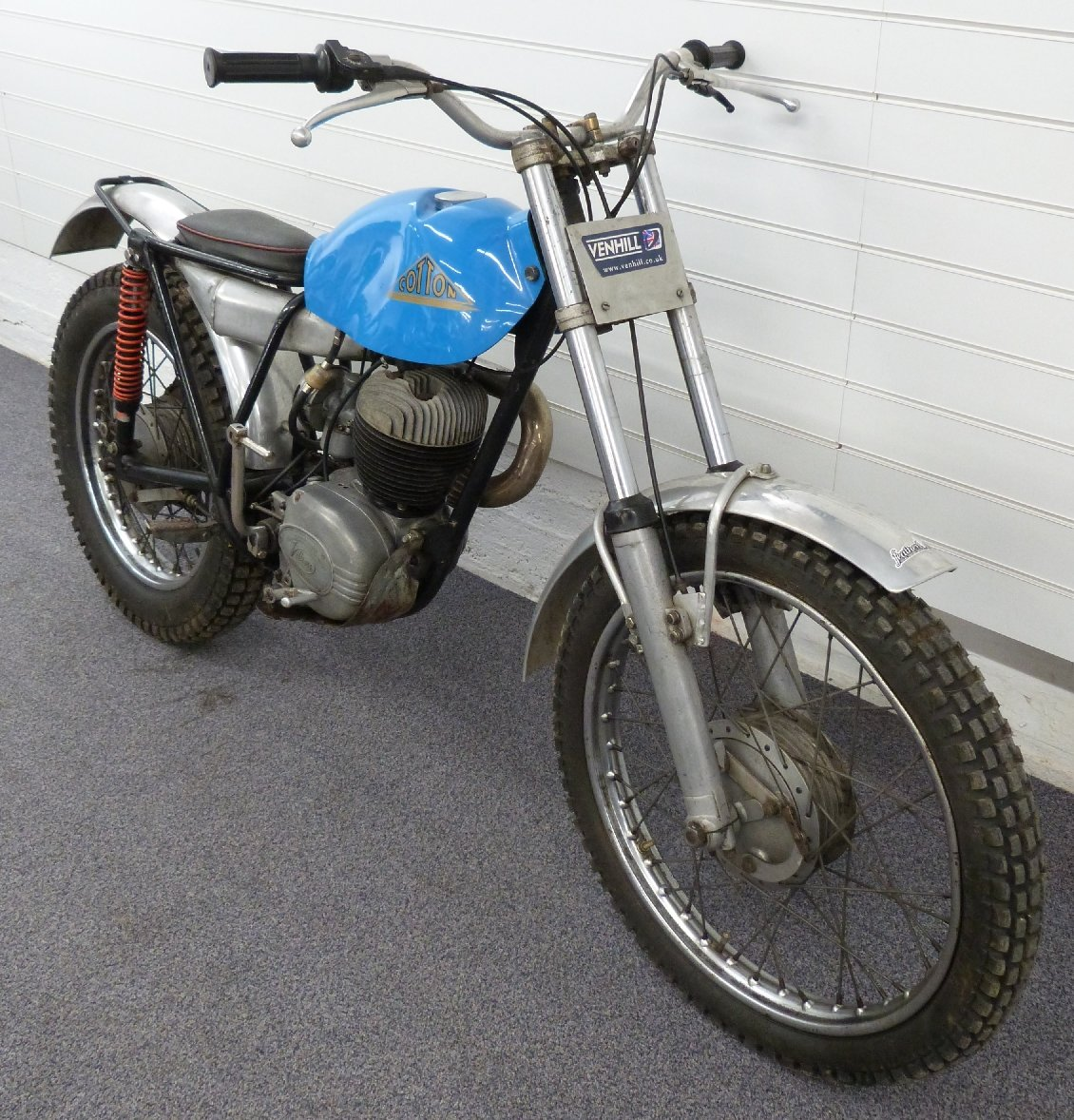 1969 Cotton 37A lightweight 250cc trials bike For Sale by Auction (picture 2 of 5)