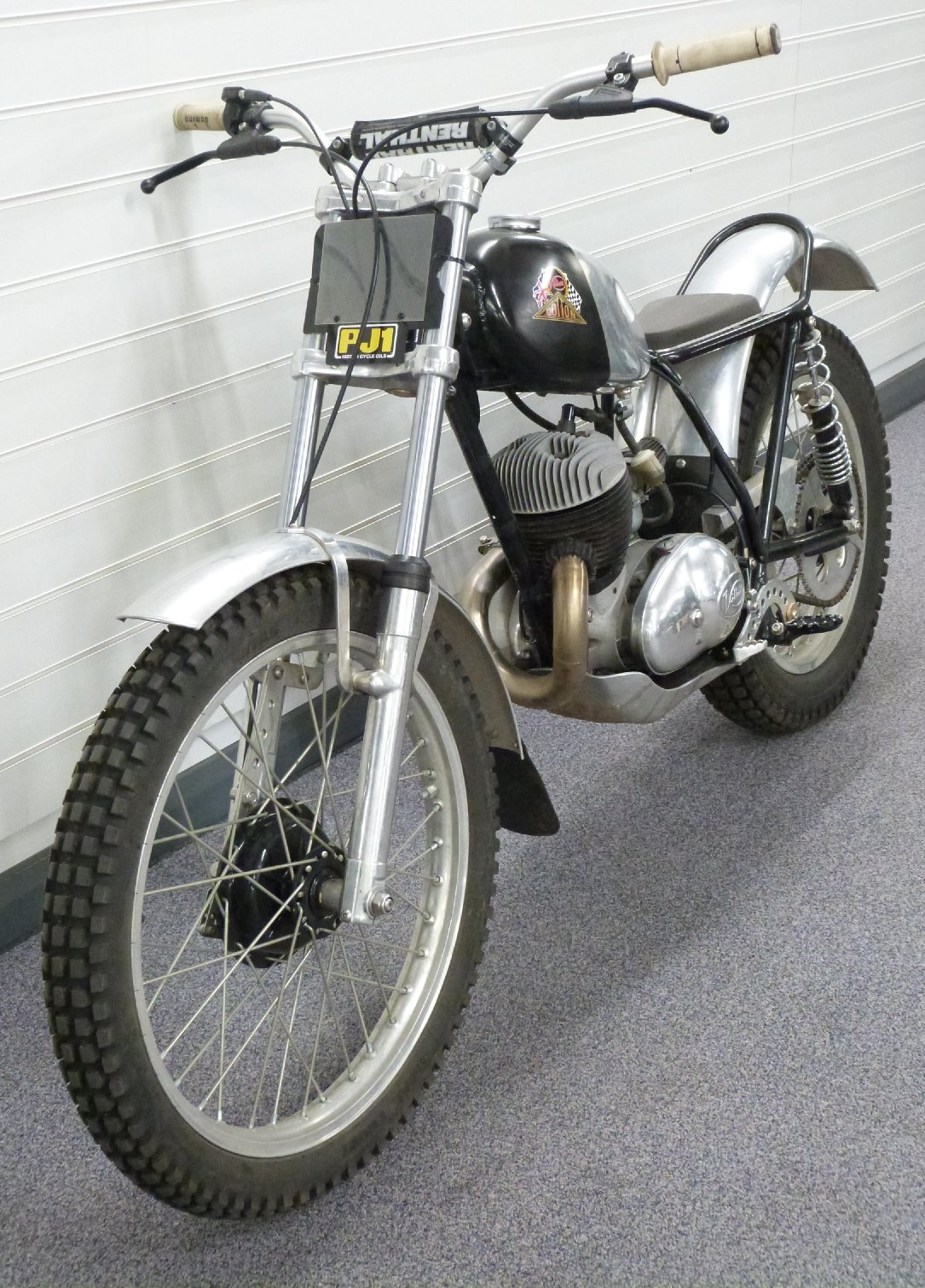 1969 Cotton 37A lightweight 250cc trials bike For Sale by Auction (picture 3 of 5)