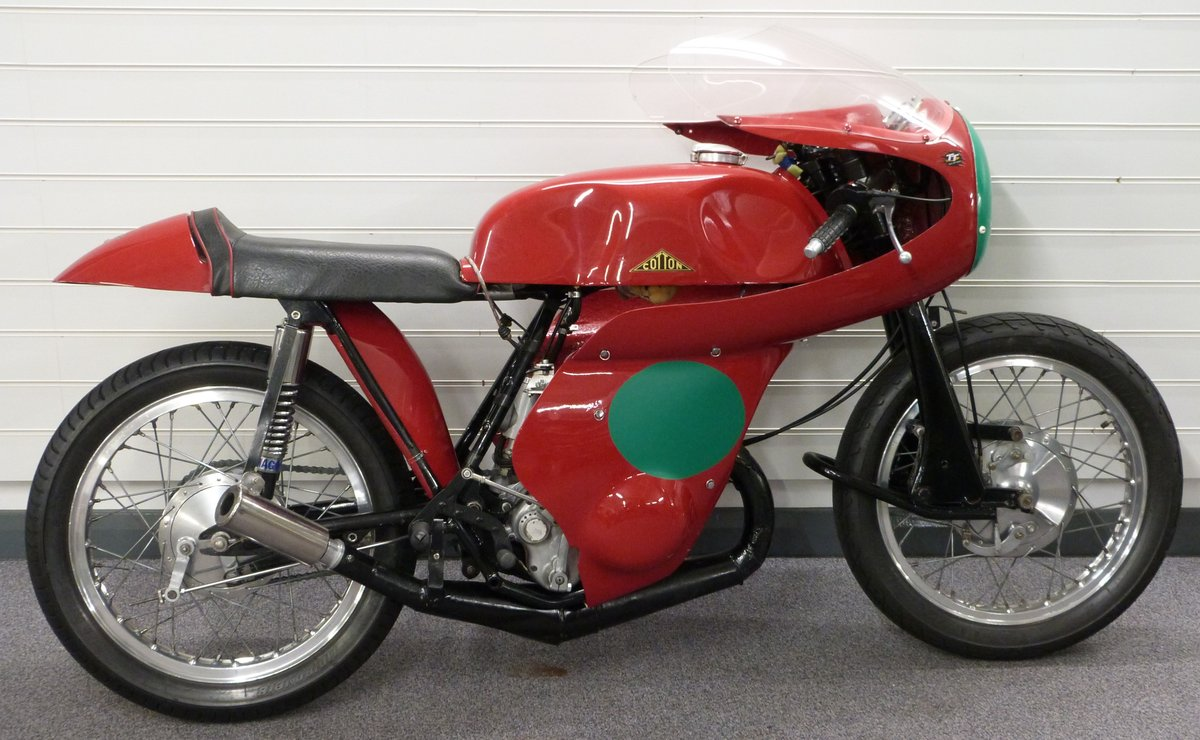 1960's Cotton Telstar Mk2 road racer For Sale by Auction (picture 1 of 6)