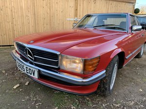 1989 Mercedes Benz 300SL r107 'FACELIFT' G reg For Sale