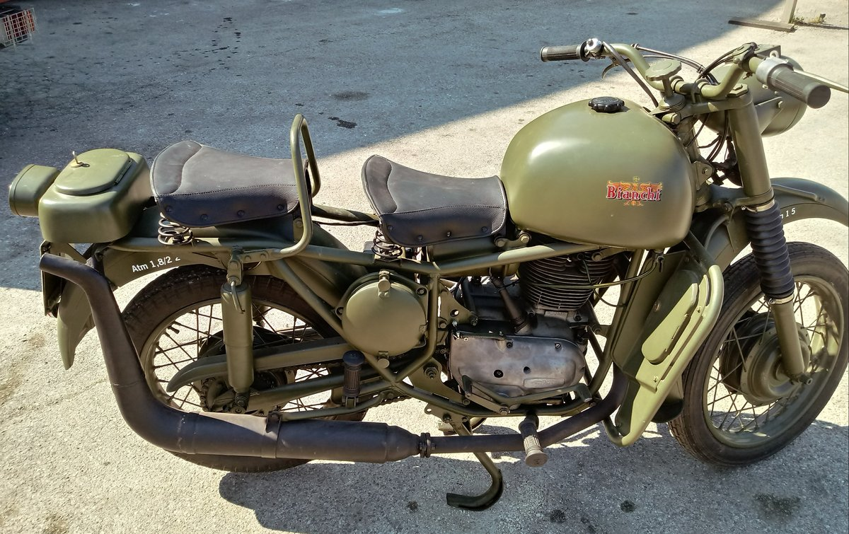 1961 Bianchi MT 61 318 cc. For Sale (picture 2 of 6)