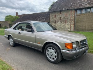 Mercedes Benz 500 sec 1991 For Sale