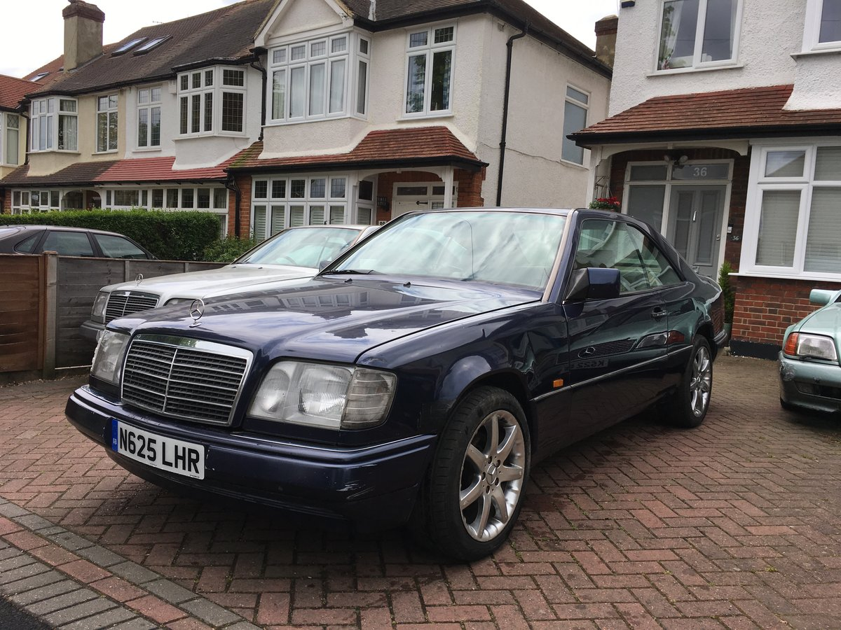 1996 Mercedes E220 COUPE, full MOT, needs tidying up For Sale (picture 2 of 6)