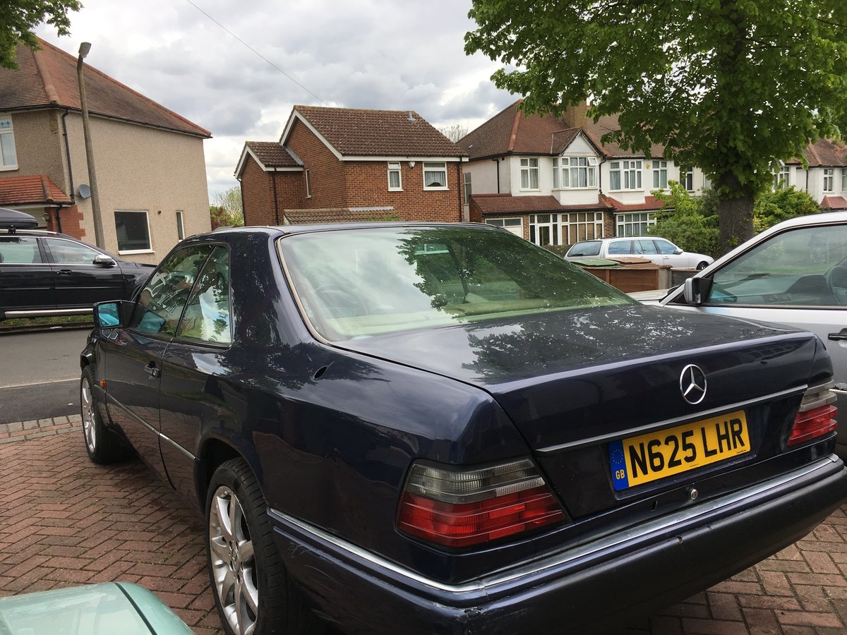 1996 Mercedes E220 COUPE, full MOT, needs tidying up For Sale (picture 6 of 6)