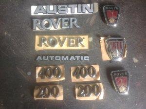 Rover/Austin  memorabilia items. For Sale