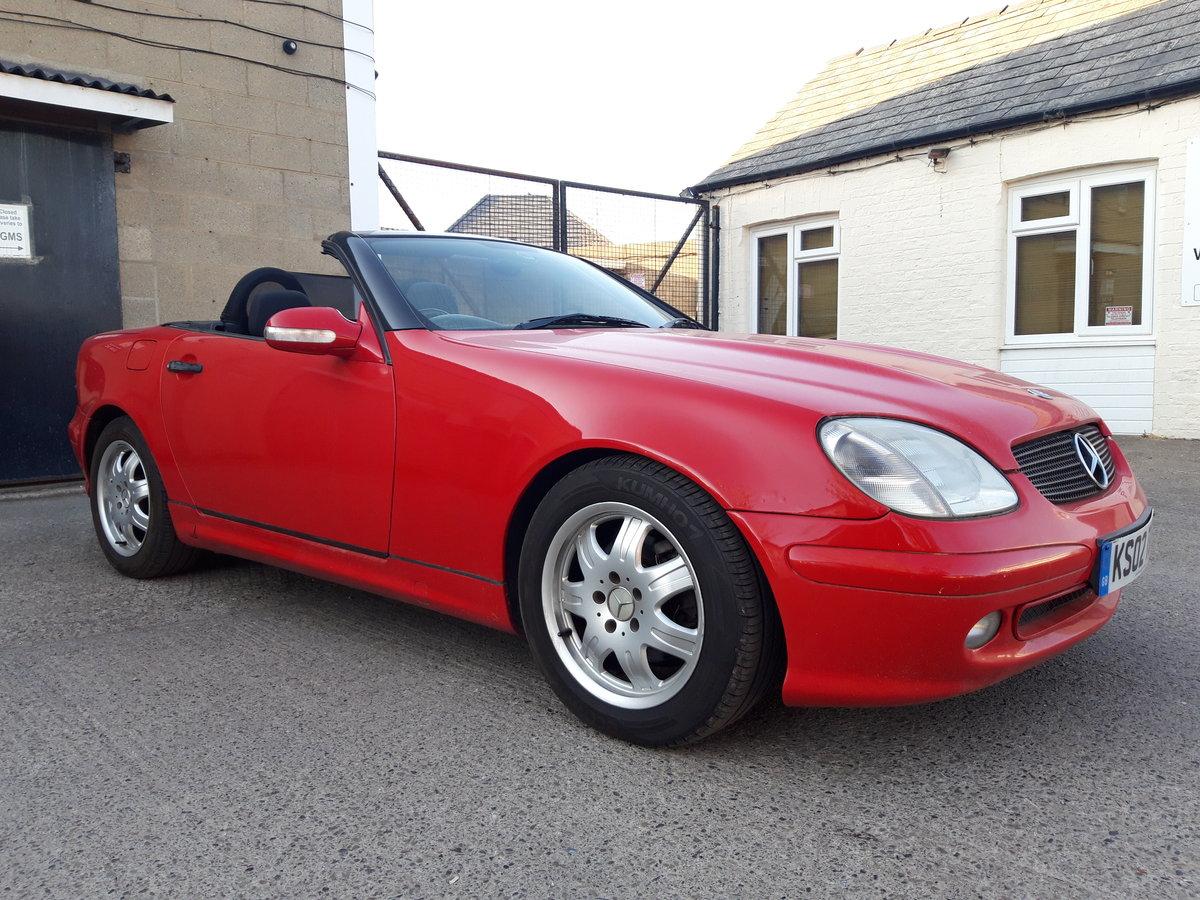 2002 MERCEDES SLK 200K, LOVELY CAR , HOOD IS PERFE For Sale (picture 1 of 6)