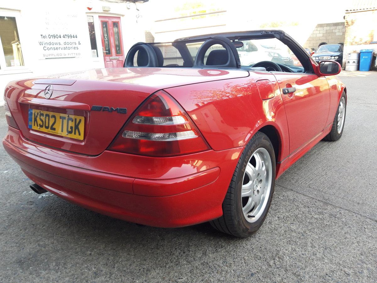 2002 MERCEDES SLK 200K, LOVELY CAR , HOOD IS PERFE For Sale (picture 4 of 6)