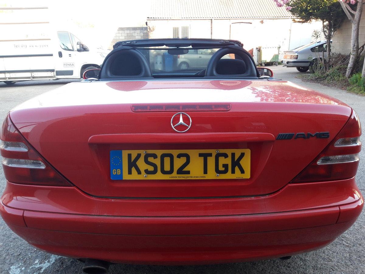 2002 MERCEDES SLK 200K, LOVELY CAR , HOOD IS PERFE For Sale (picture 5 of 6)