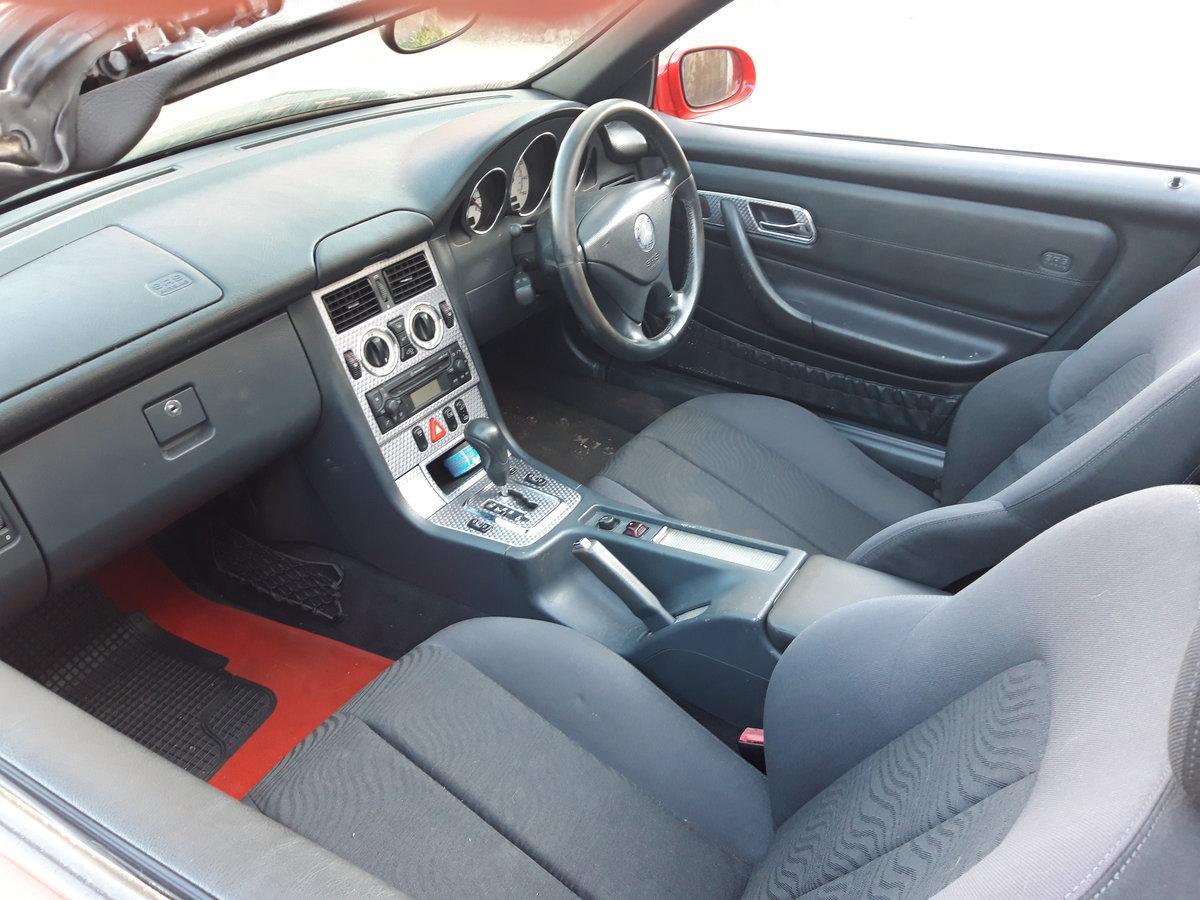 2002 MERCEDES SLK 200K, LOVELY CAR , HOOD IS PERFE For Sale (picture 6 of 6)