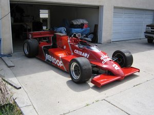 March Indy/road course - Bobby Rahal RESTORED