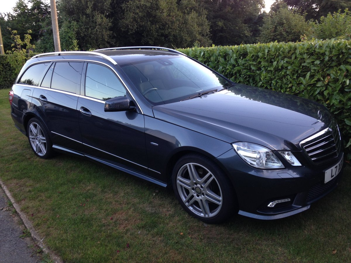 2010 Mercedes 350 cdi BlueEfficiency Sport Estate For Sale (picture 1 of 3)