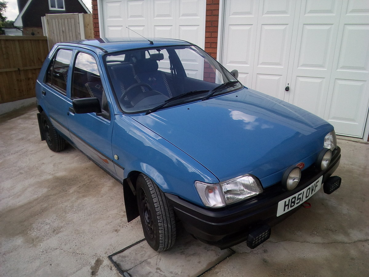 1990 Ford fiesta 1.1 popular plus 5 door petrol For Sale (picture 1 of 6)