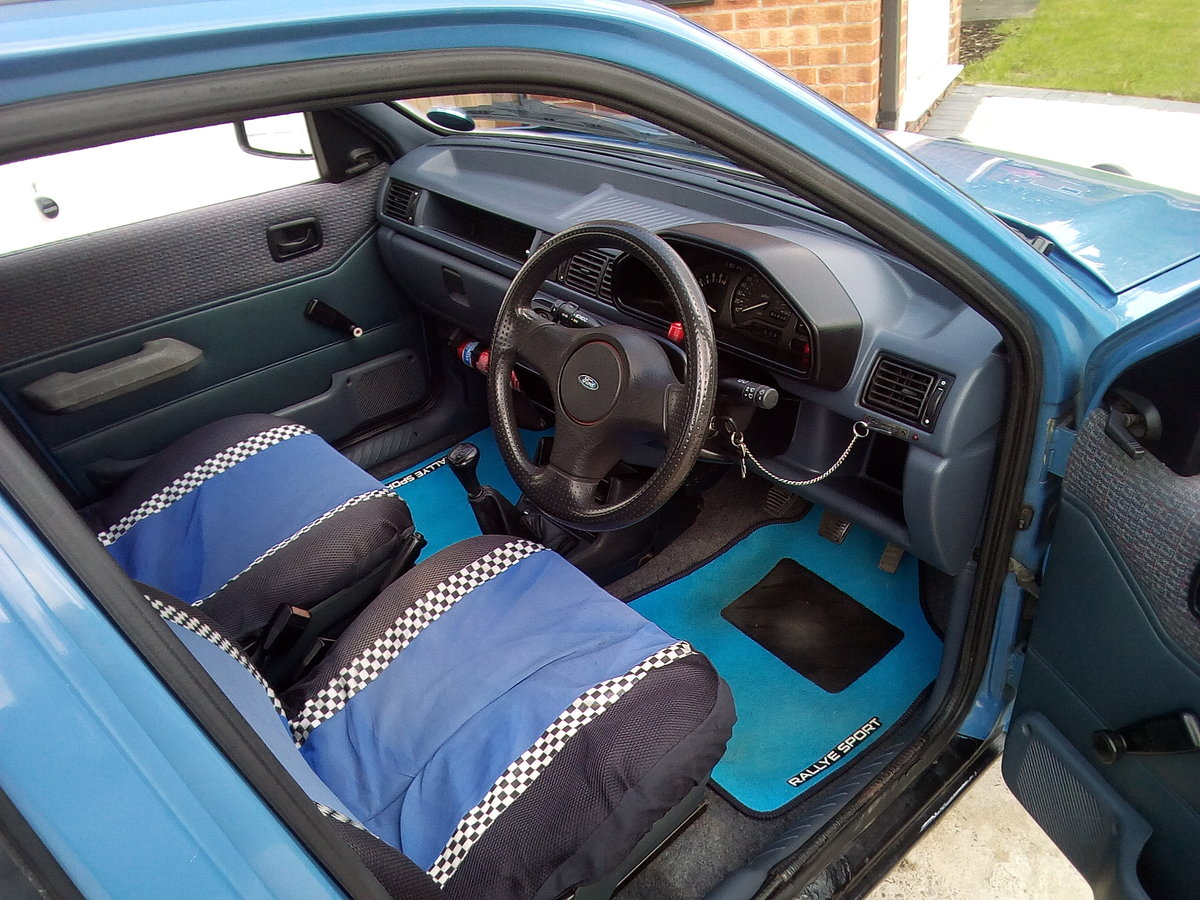 1990 Ford fiesta 1.1 popular plus 5 door petrol For Sale (picture 4 of 6)