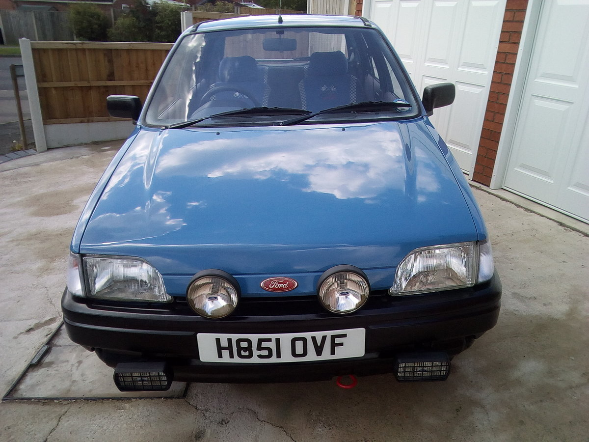 1990 Ford fiesta 1.1 popular plus 5 door petrol For Sale (picture 6 of 6)