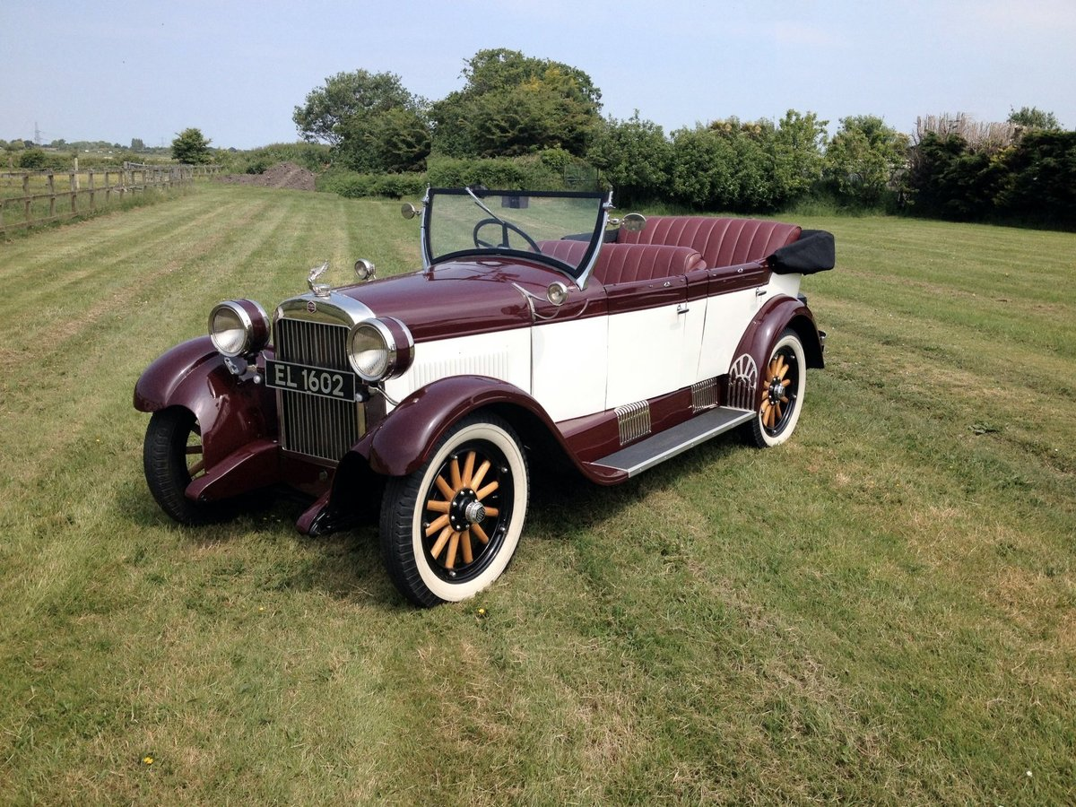 1928 Essex Super Six 5 seater phaeton For Sale (picture 2 of 6)