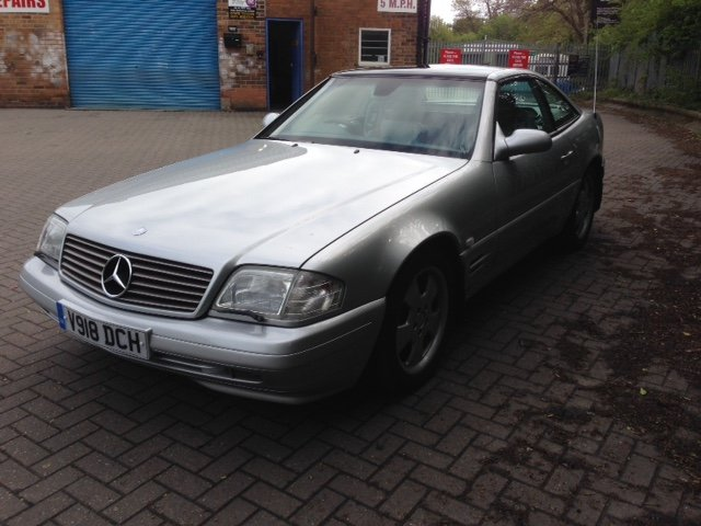 1999 Mercedes SL320 R129 For Sale (picture 2 of 6)