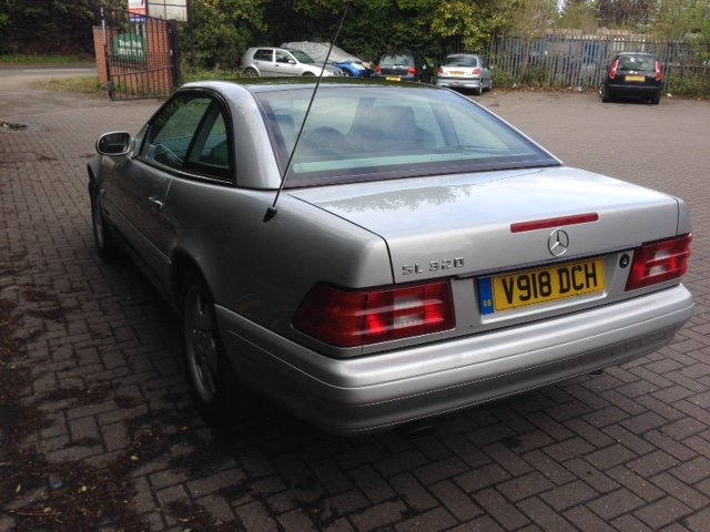 1999 Mercedes SL320 R129 For Sale (picture 3 of 6)